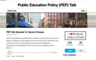 AASA's PEP Talk Podcast