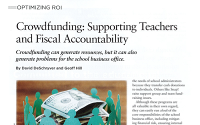 Crowdfunding: Supporting Teachers and Fiscal Accountability